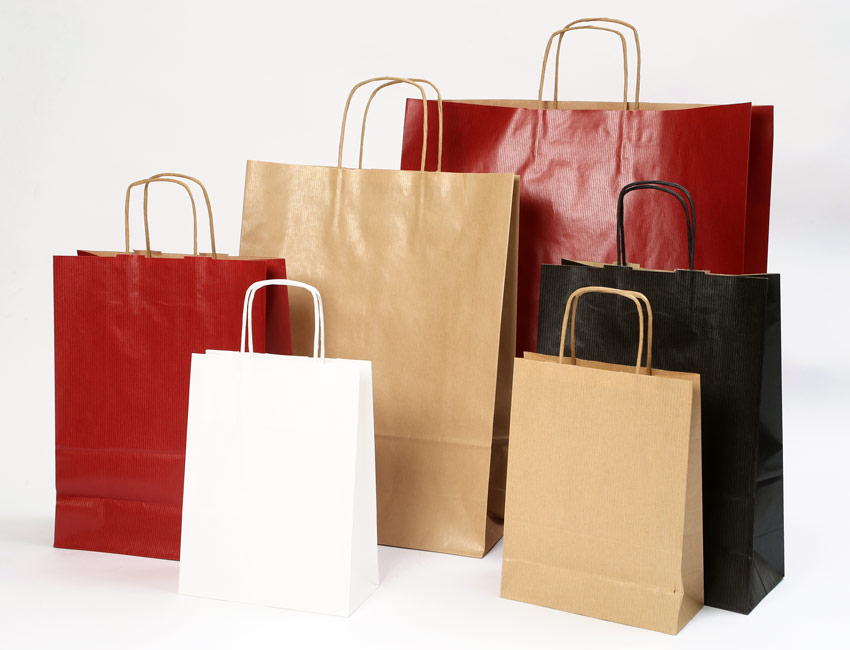 Sav On Bags >> Twisted Handle Paper Bags By Sav Eco In Leicester